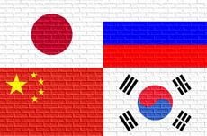「逆さ地図」にみる日露中韓の宿命的な関係