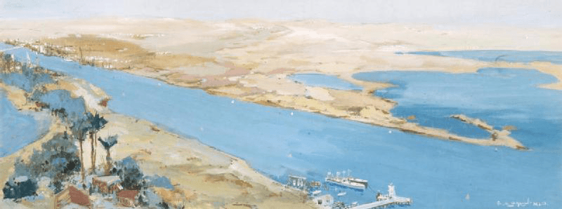 スエズ運河とアラビア湾が挟む中東の地政学的意味が大変化